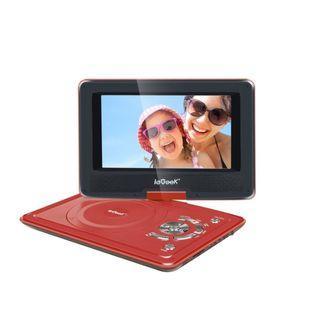 "683) ieGeek Portable DVD Player Kit - 9.5"" LED Eye Protection Swivel Screen"
