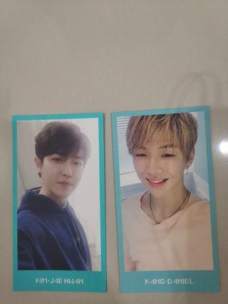 WTS Wanna One Kang Daniel & Jaehwan