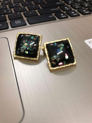 🚚 韓國復古寶石💎大耳環