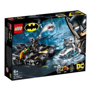 LEGO 76118:  DC SuperHeroes - Mr. Freeze Batcycle Battle (NEW)