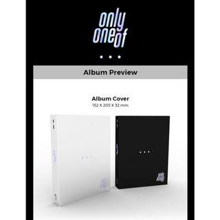 [PREORDER] OnlyOneOf 1st Mini Album - DOT POINT JUMP