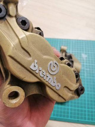 Brembo P4 Brakes for Front Double Disc with Brembo Brake Pad 65MM