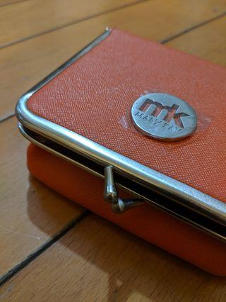Mary Kay Orange Lipstick Pouch with mirror 有鏡橙色唇膏袋