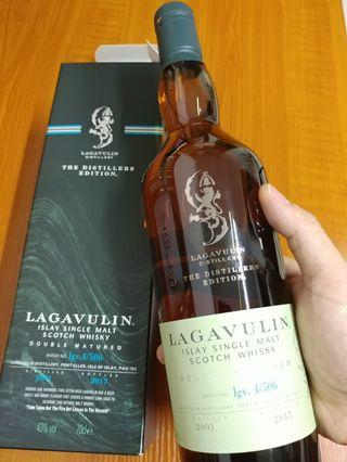 Lagavulin 2001-2017