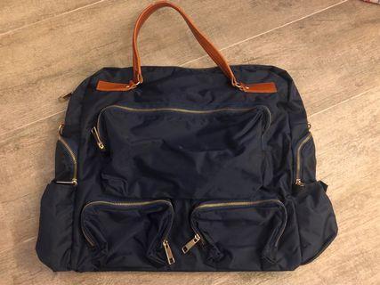 深藍色大袋 Bag Made in Korea