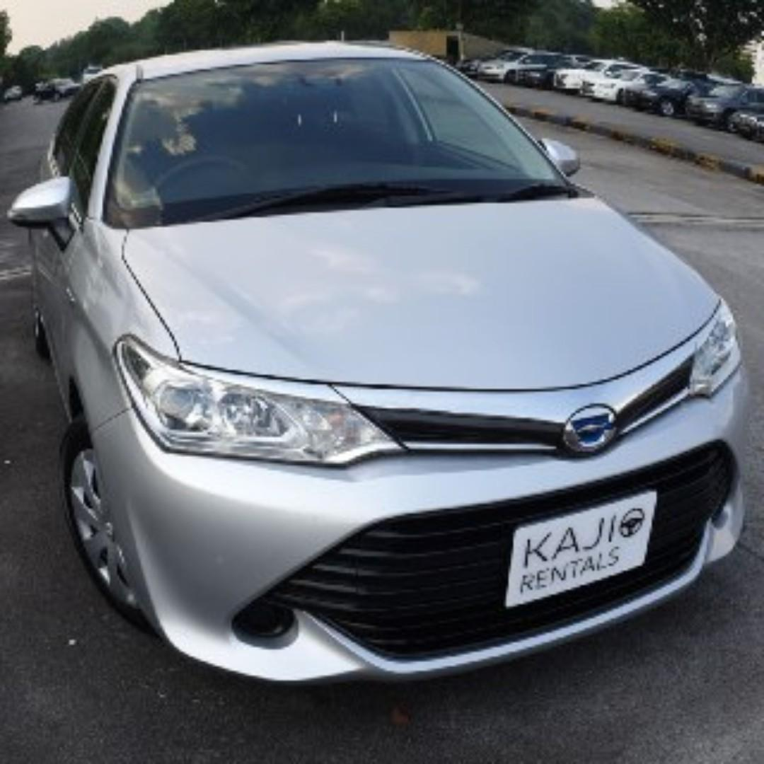 [$475/week] Toyota Fielder Hybrid 1.5G Available for Long term leasing!