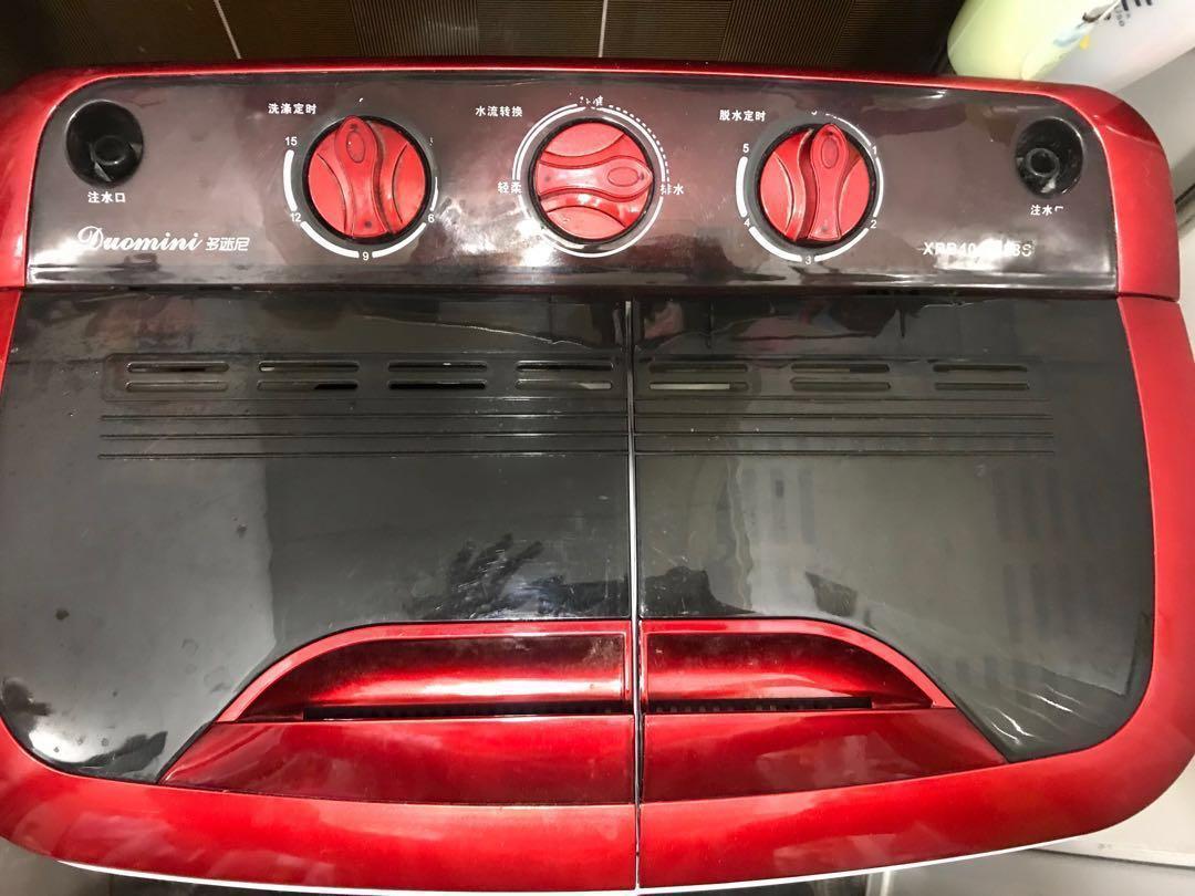 迷你半自動洗衣機