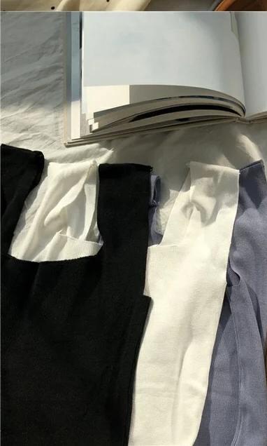 無袖短款上衣
