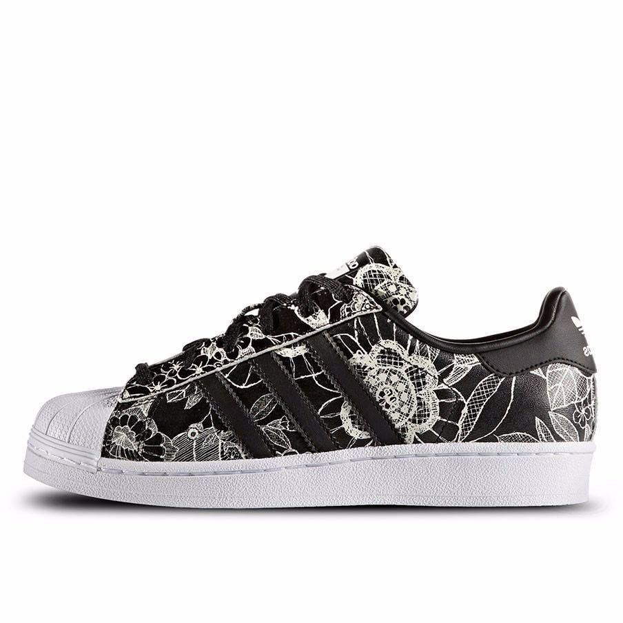 Adidas Originals Superstar Black White