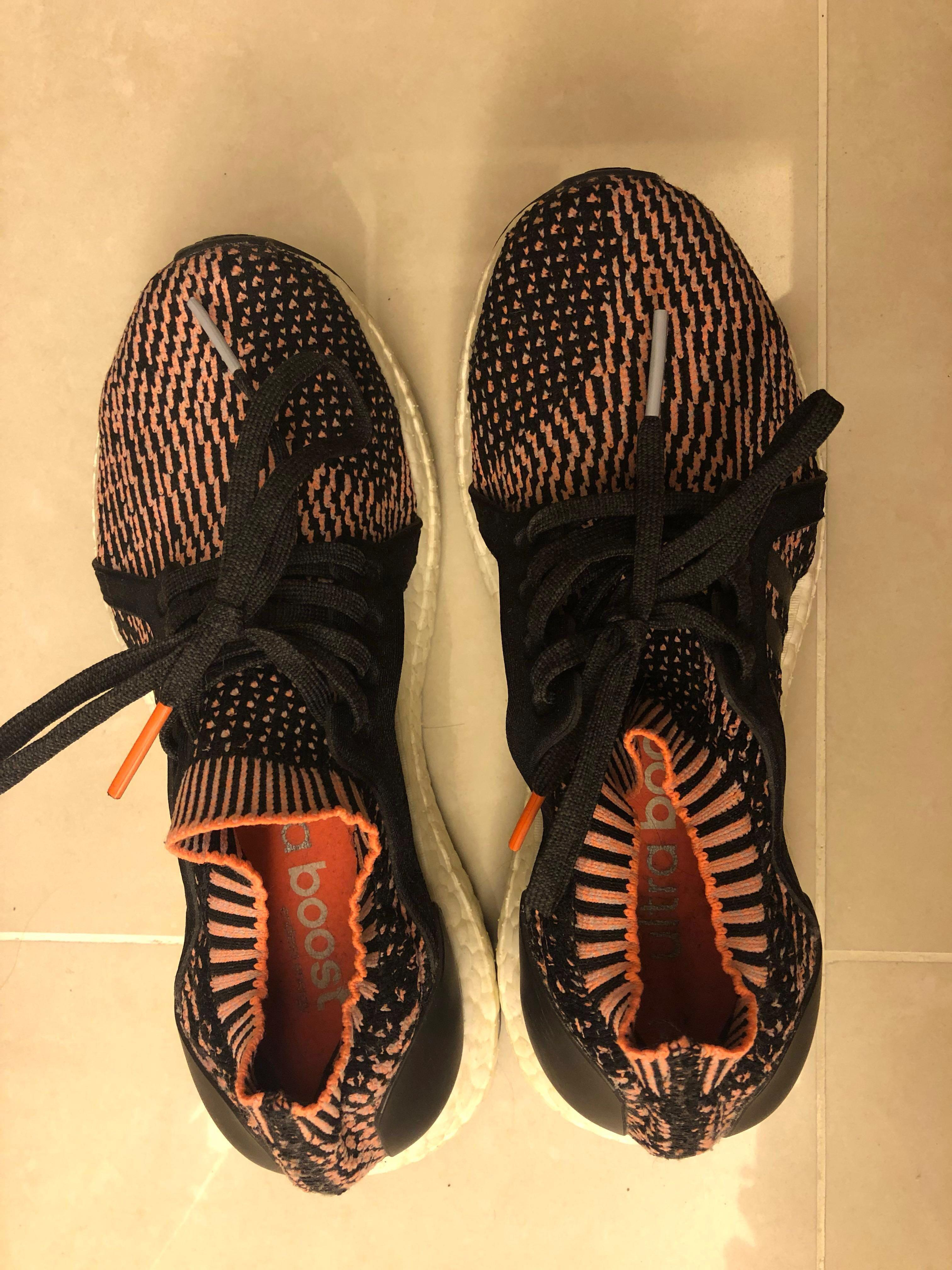 Adidas Ultra Boost sneakers (black/orange)