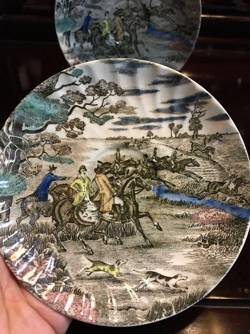 Antique vintage collectibles Antiques Arts & Prints Tables & Chairs Porcelain Collection Artwork Chinese Painting Vase Porcelain plate 瓷器收藏字画书法