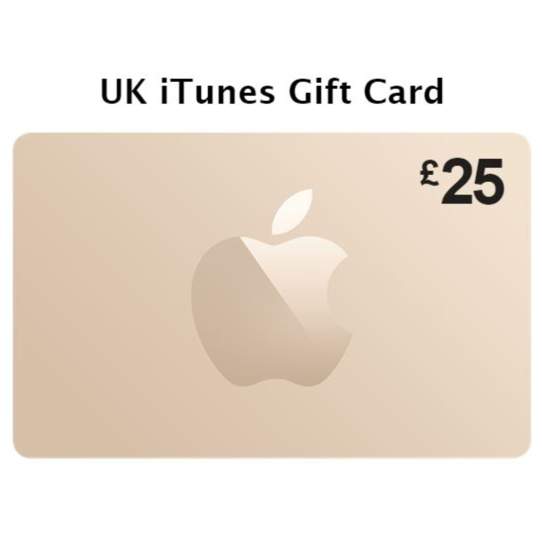 Apple Store Gift Card (UK) worth £25