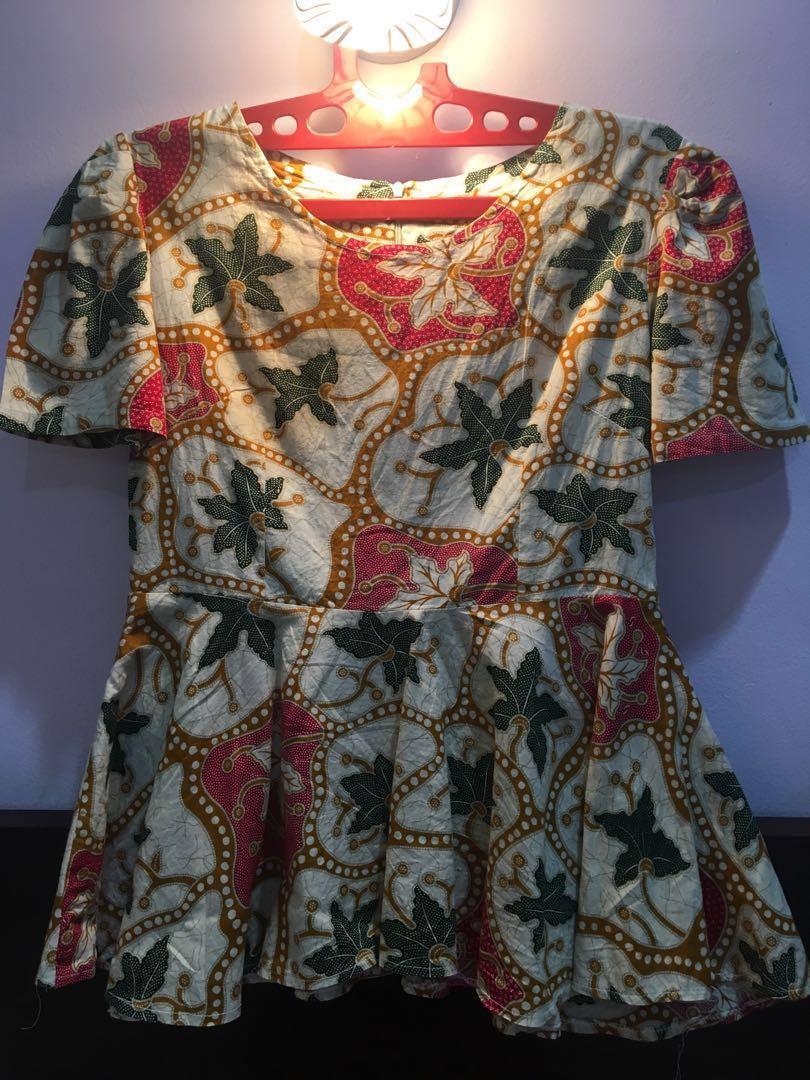 Batik beige - Blouse