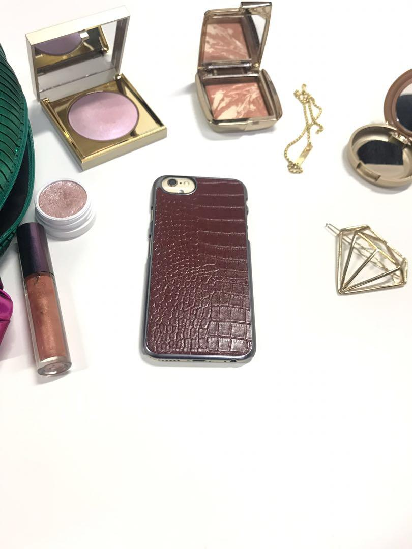 Brown Backing Case for iPhone 6/7/8