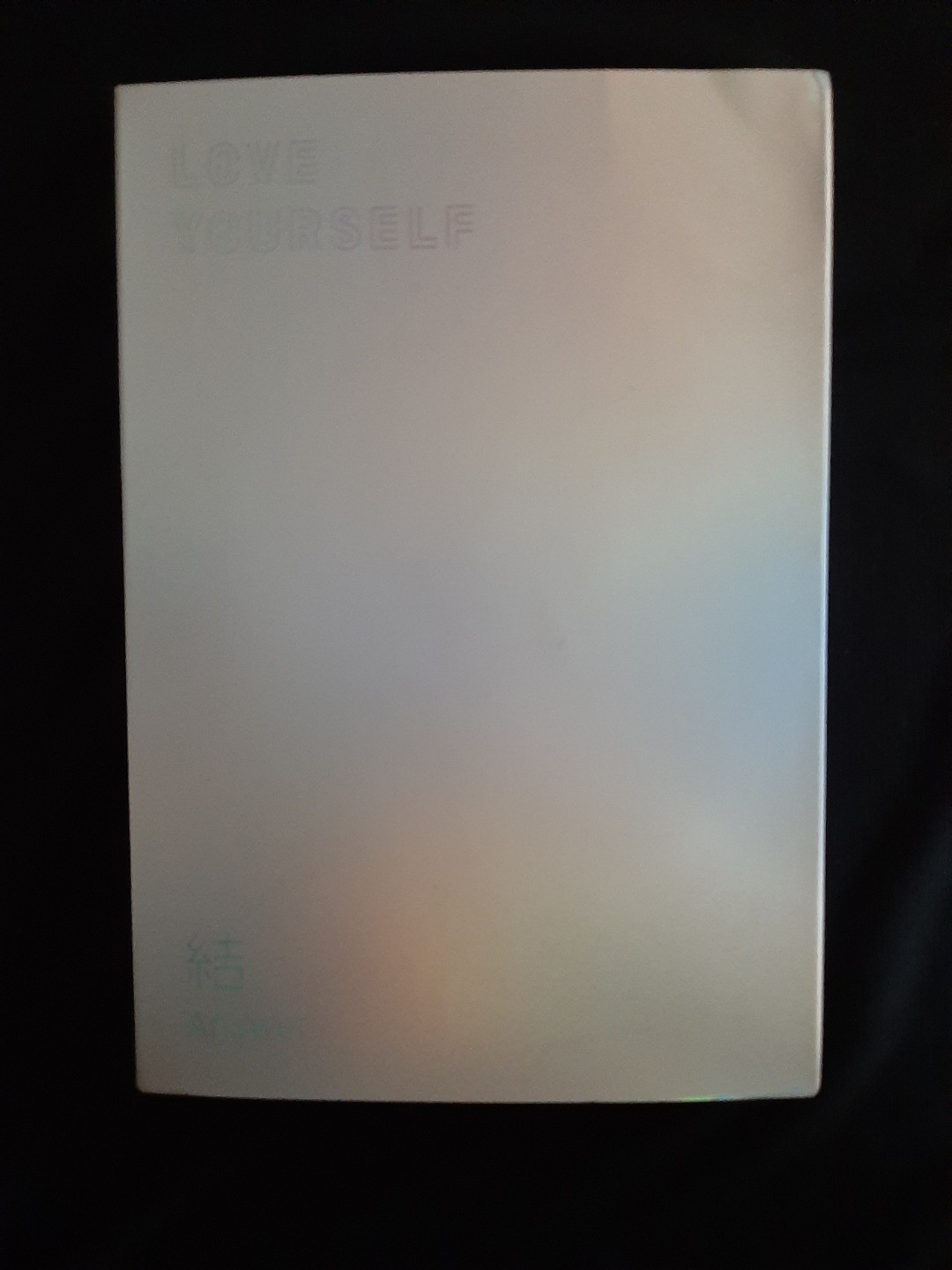BTS ALBUM: LOVE YOURSELF ANSWER; S VERSION UNSEALED WITH SUGA PC