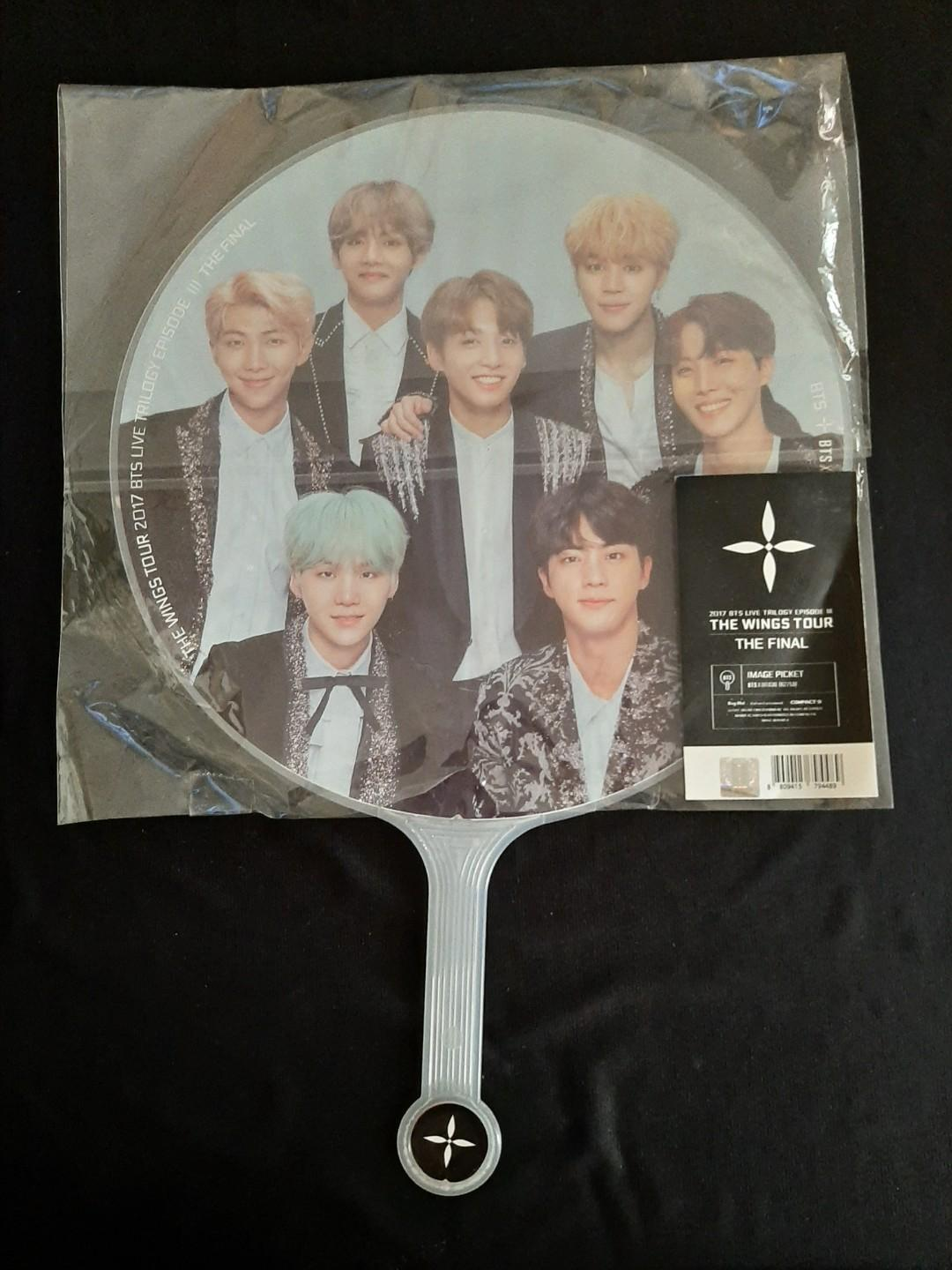 BTS WINGS TOUR MERCH: HANDFAN GROUP PICTURE