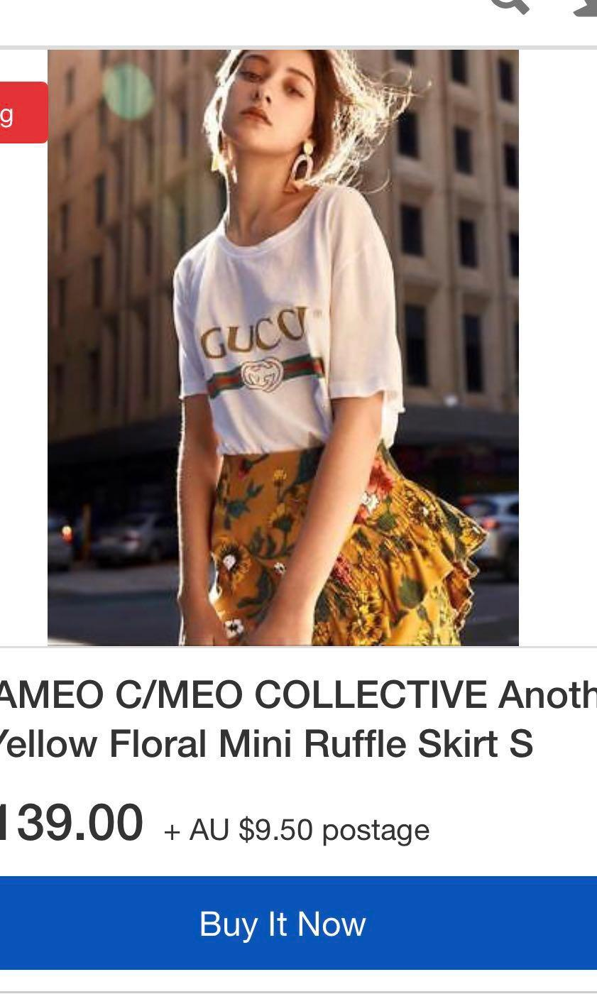 C MEO Collective Skirt Size XS