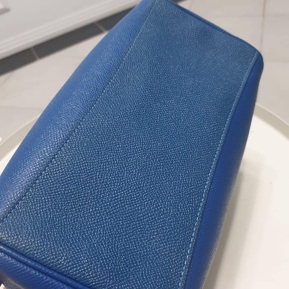 Coach Mini Bennet sachel blue Authentic with no seri mulus & Like new
