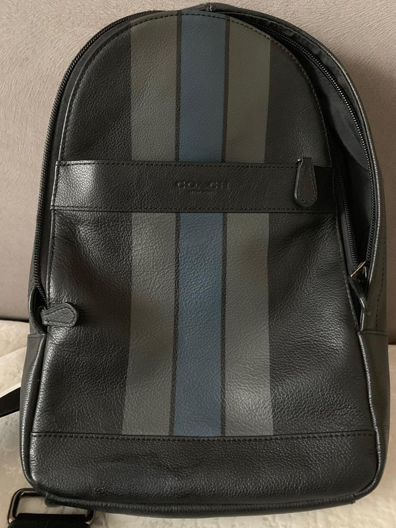 Coach ORI - Charles Pack Varsity Leather