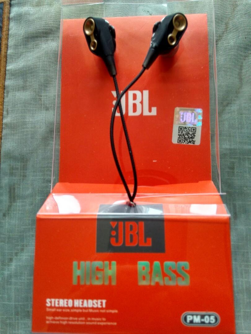 Earphone High bass