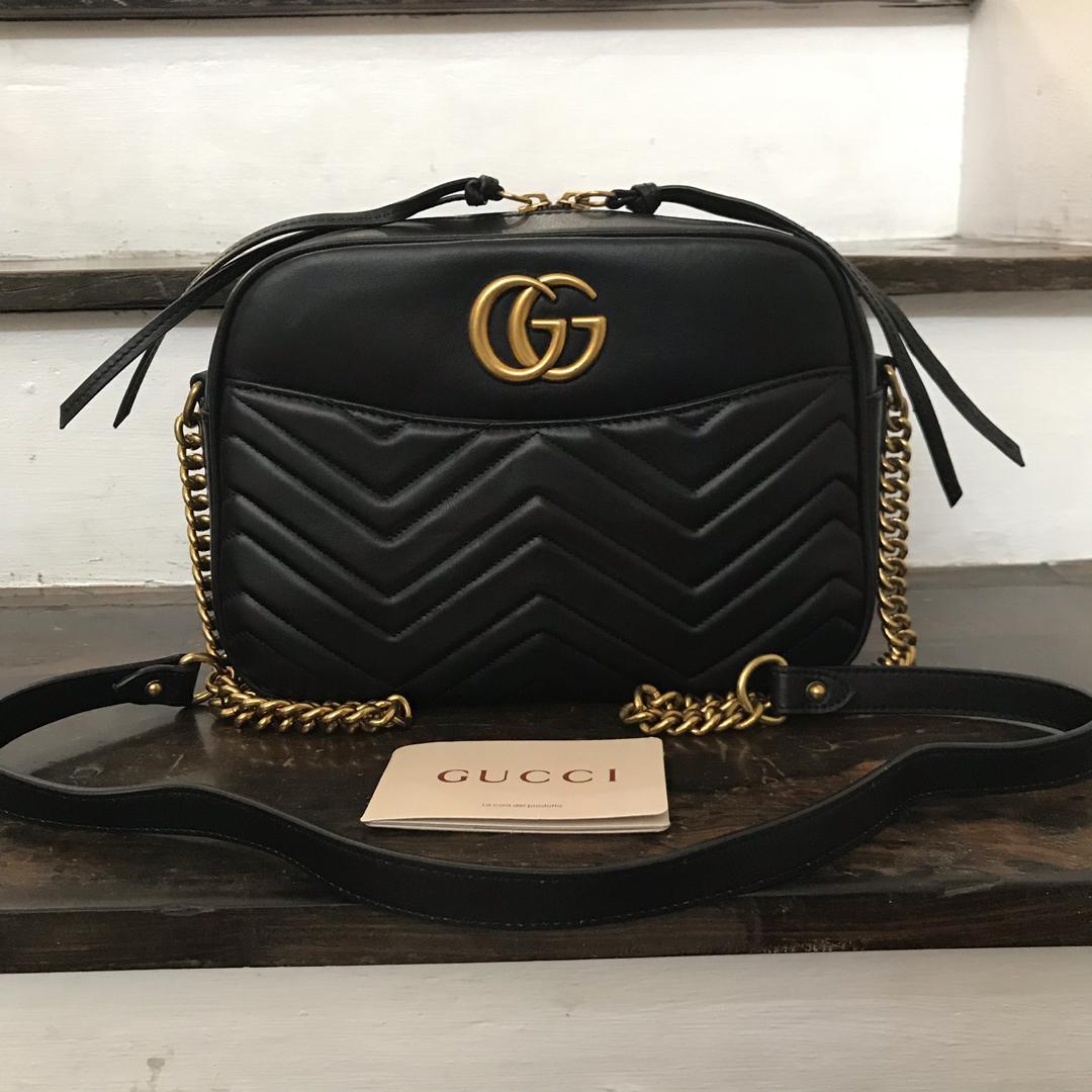 a26fc679b Gucci Medium Marmont Matelasse Shoulder Bag on Carousell