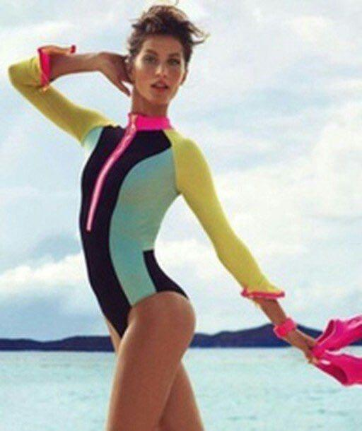 H&M Colorful Rash Guard
