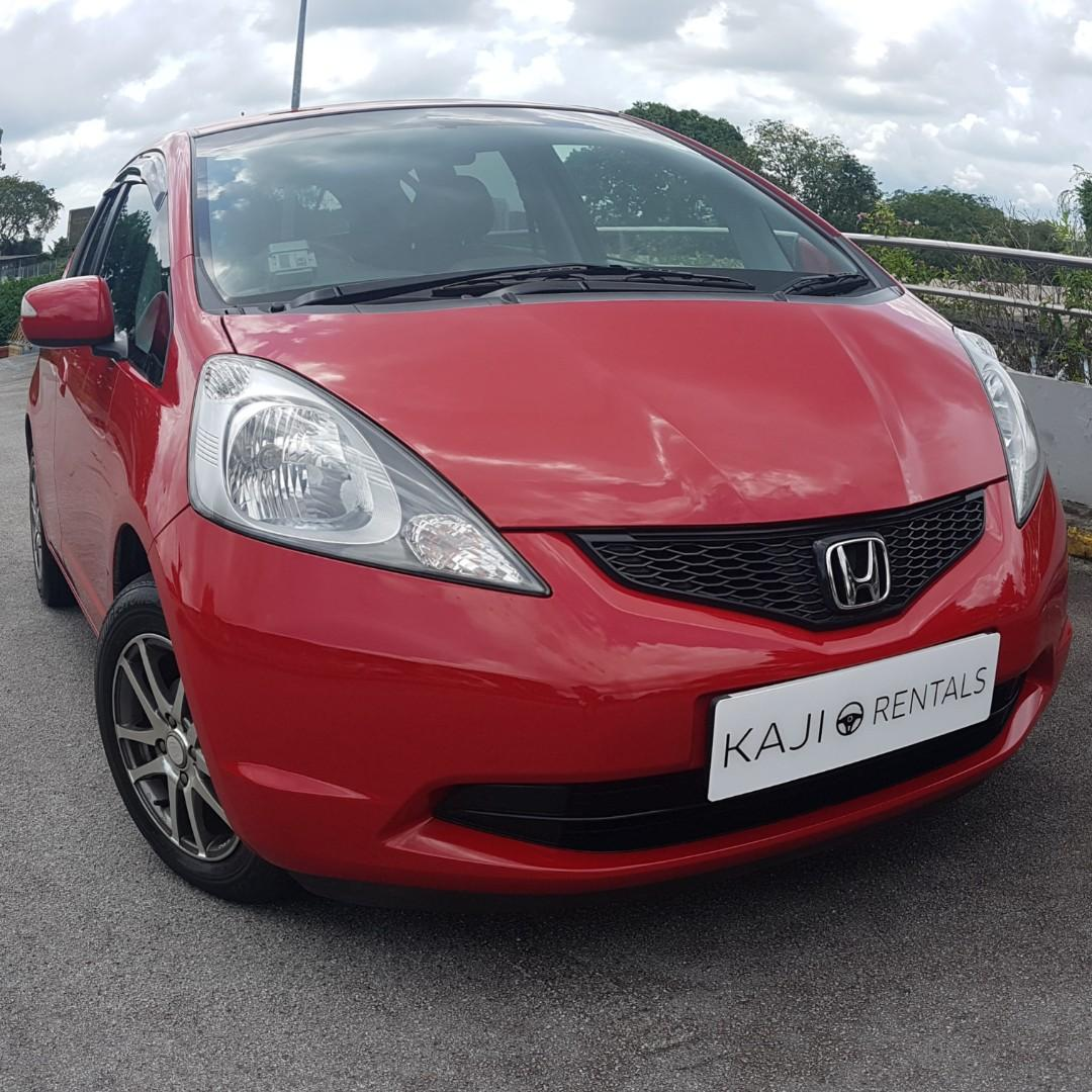 Honda Fit 1.3A G Available for Long Term Leasing!