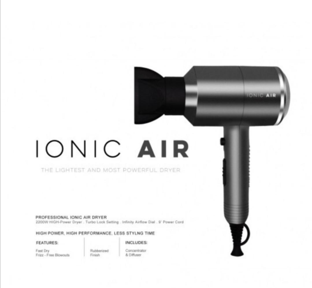 Ionic Air Hair Dryer 2200W - Dry and style at the same time ...