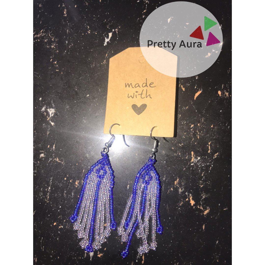 Jellyfish Handmade Beads Earring