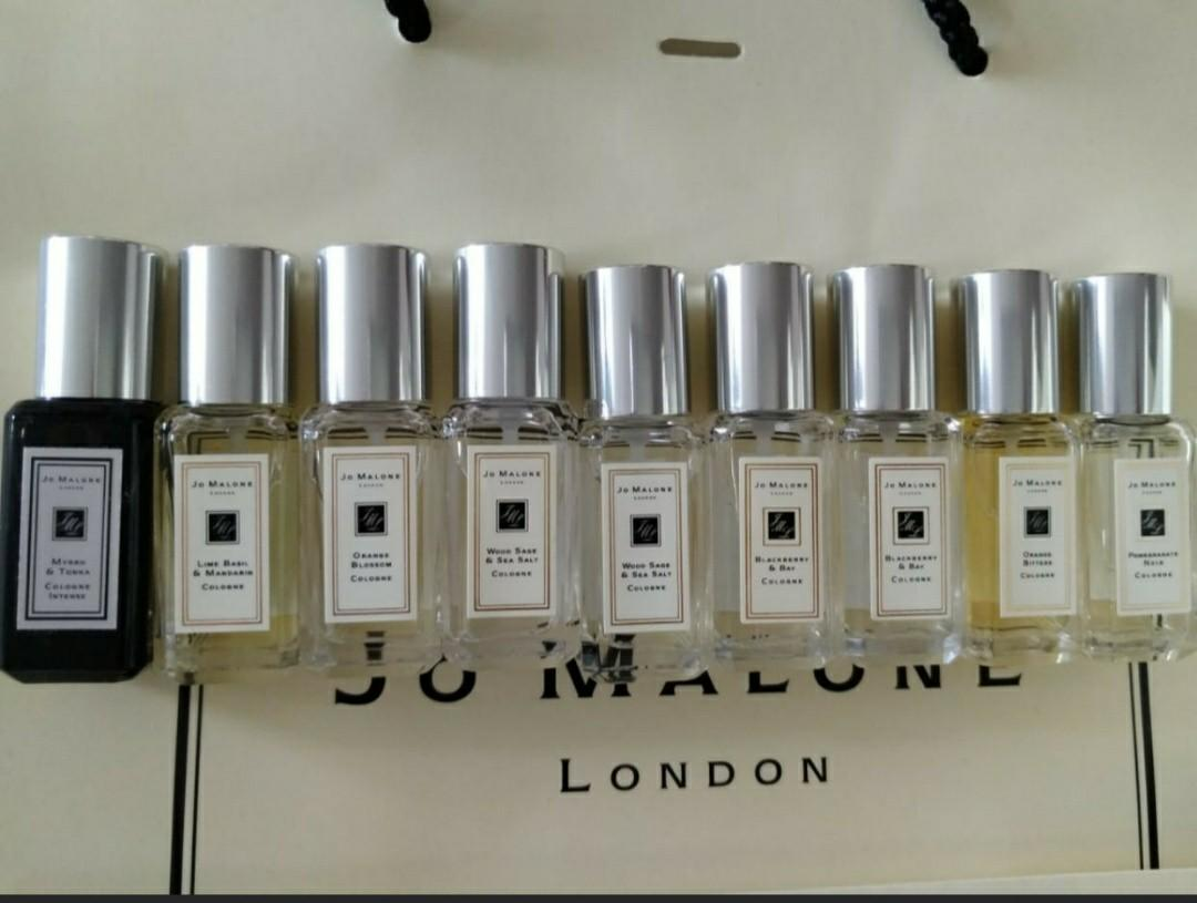 Jo Malone 9ml 香水 Bluebell/ Woodsage & Salt / Lime Mandarin #Lalamove