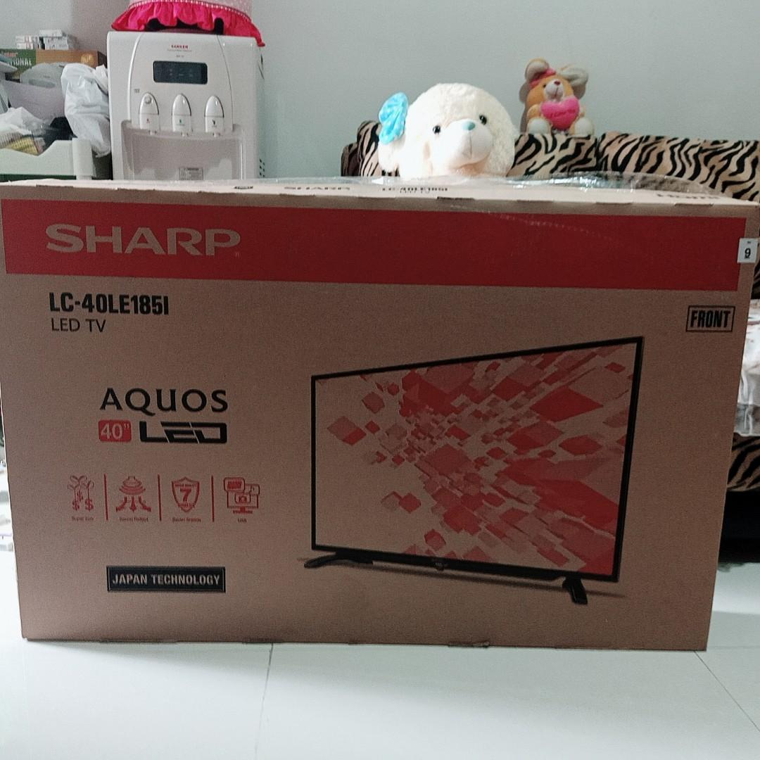 Jual murah LED TV 40 Inch SHARP LC-40LE1851 Hitam