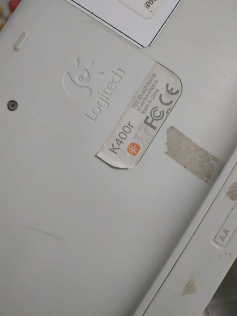 Keyboard Logitech k400r
