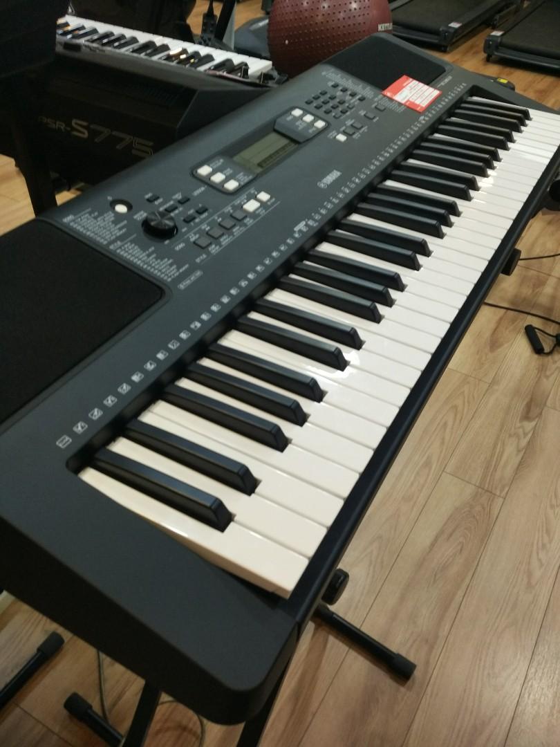 Kredit keyboard psr E363 - PA3. Tanpa DP cukup bayar admin fee Rp.199.000