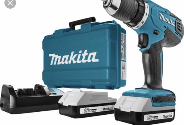Makita cordless driver drill DF457DWE bnib
