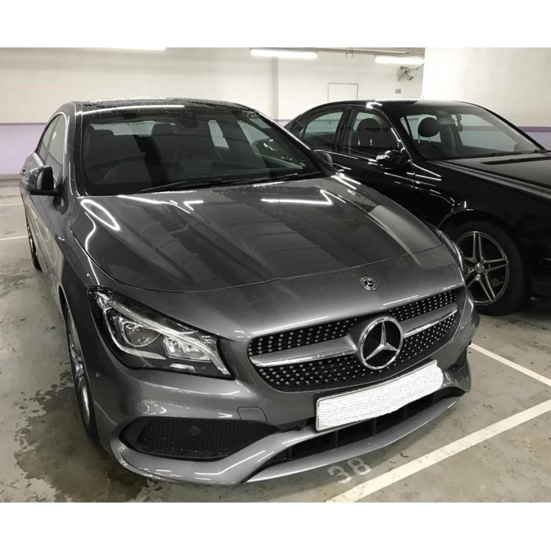 MERCEDES-BENZ CLA250 AMG FACELIFT 2017