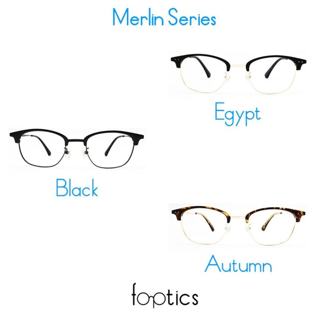 Merlin in Egypt - foptics Eyewear - Prescription Glasses in Singapore