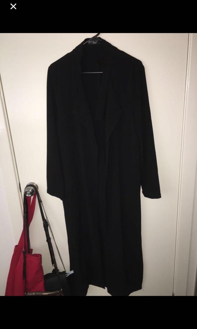 Missguided Black Duster