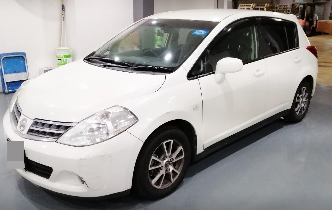 Nissan latio for rent!