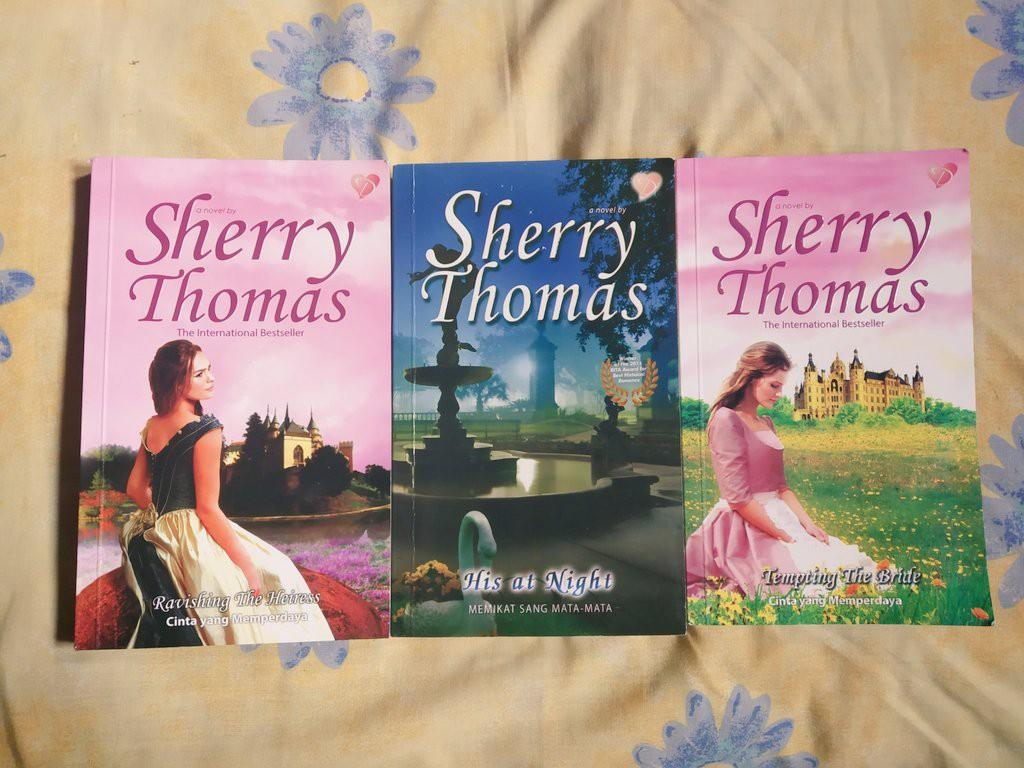 Novel Historical Romance Terjemahan by Sherry Thomas