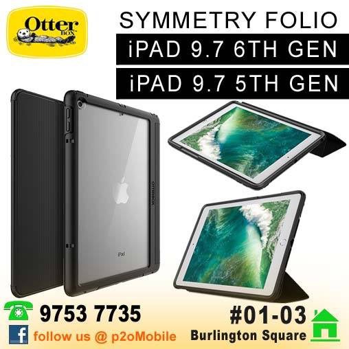 huge selection of 3b6a4 95a16 Otterbox Symmetry Folio for iPad 9.7 Gen 6th / 5th
