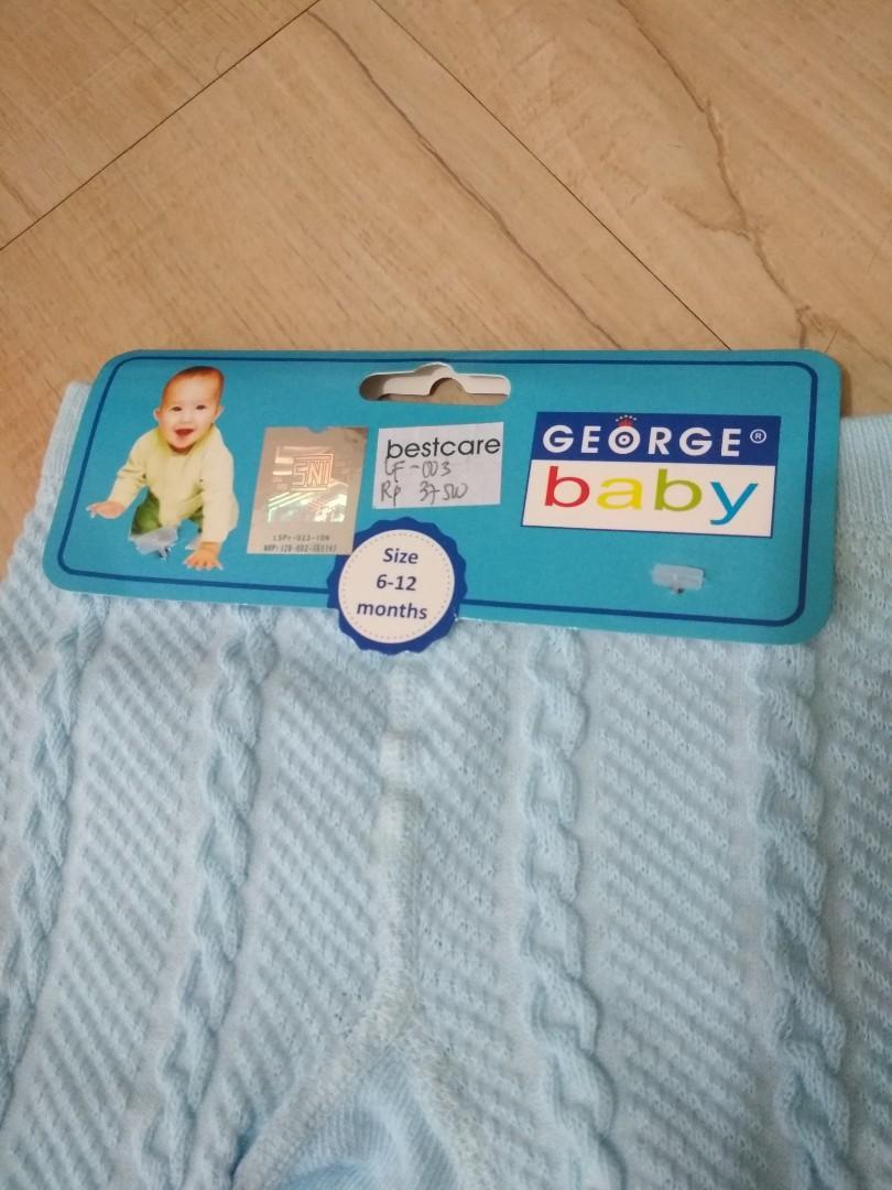 Pantyhose kaos kaki bayi warna biru muda