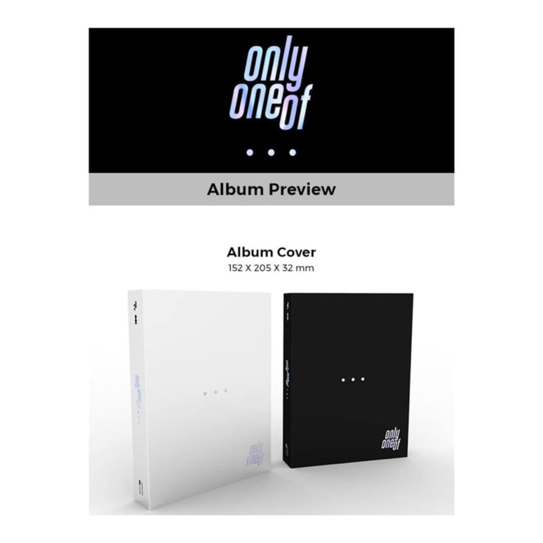 [Pre-order] ONLYONEOF 온리원오브 (1ST MINI ALBUM 미니앨범) - DOT POINT JUMP (WHITE ver.    BLACK ver.)