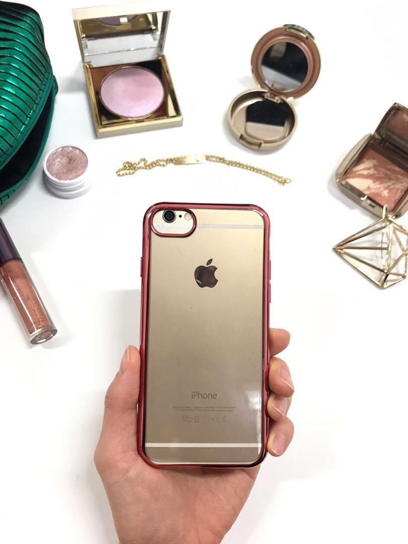 Rose Gold Lining Case for iPhone 7/8