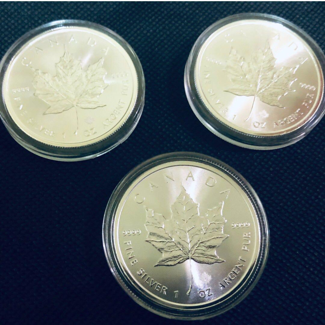 Silver Coin Set1 - Maple Leaf