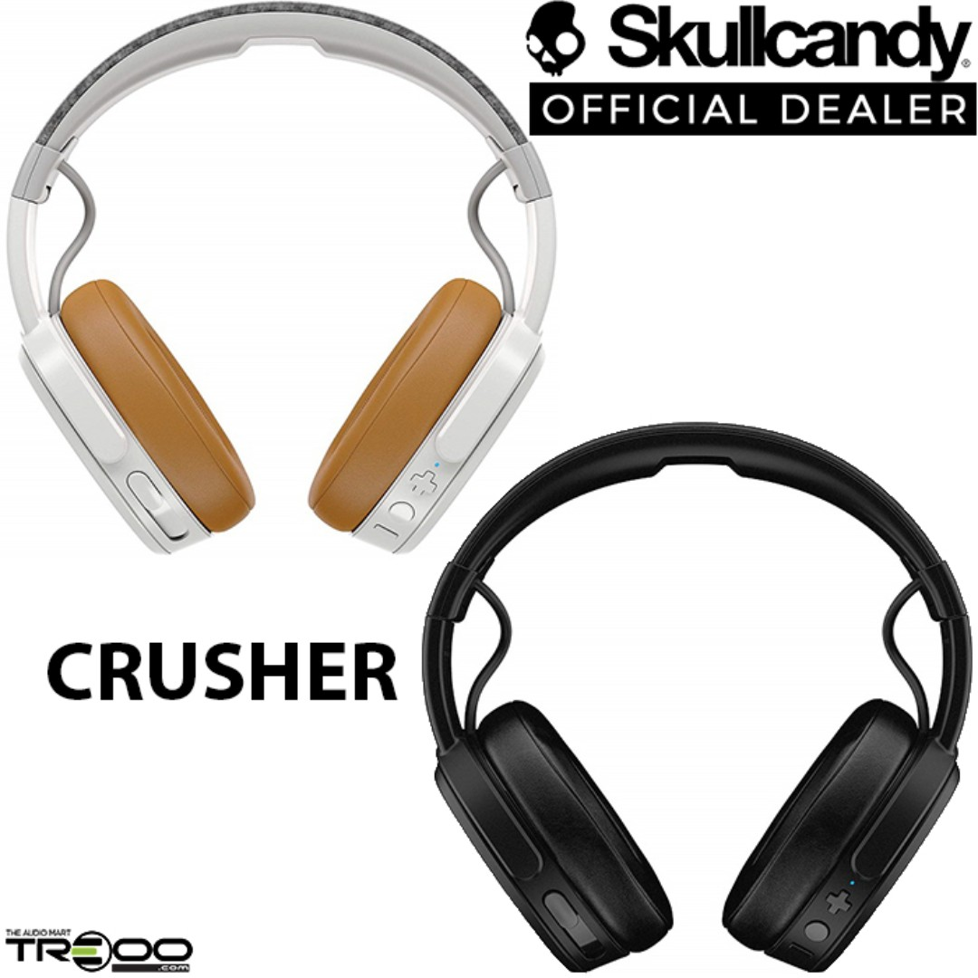 34df1430625 Skullcandy Crusher Wireless Bluetooth Over-the-Ear Headphone with  Microphone, Electronics, Audio on Carousell