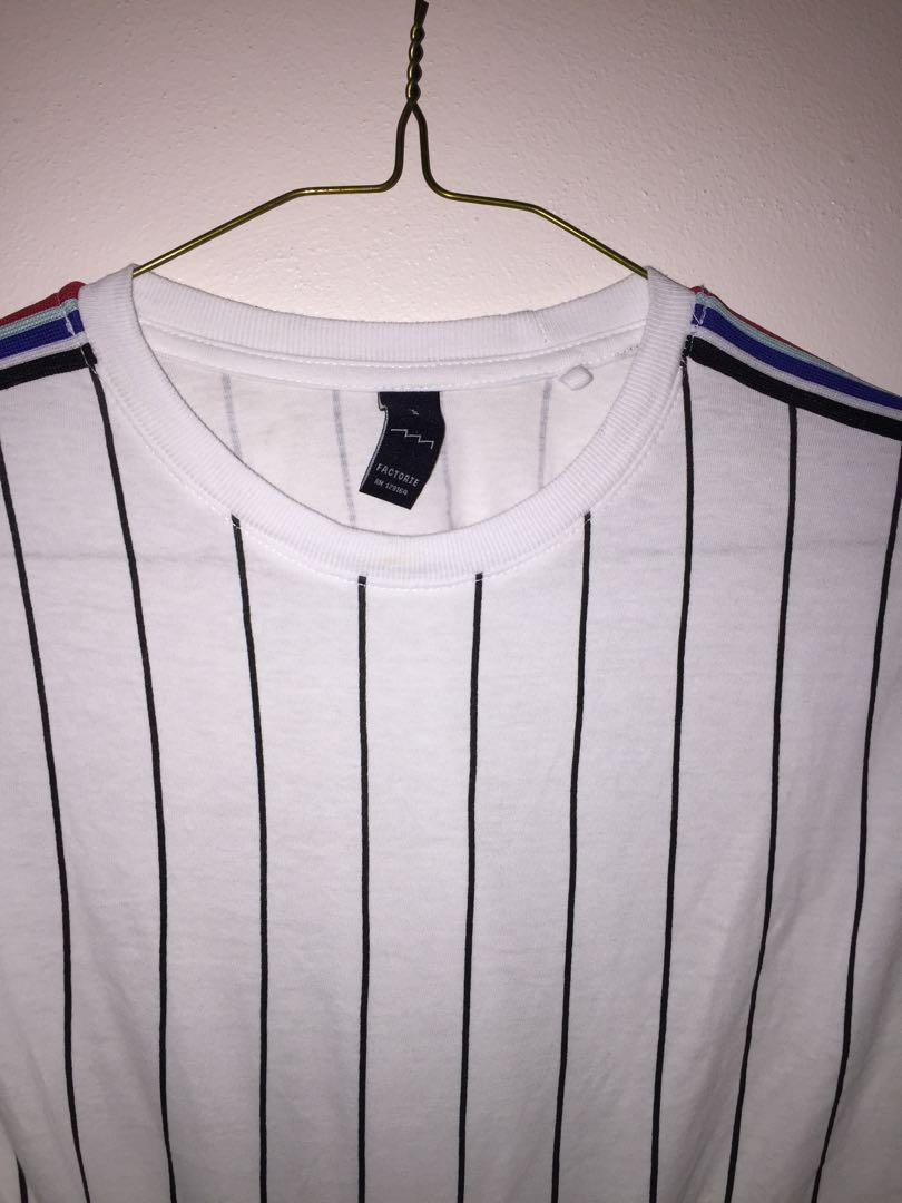 Striped Vintage Crop Top