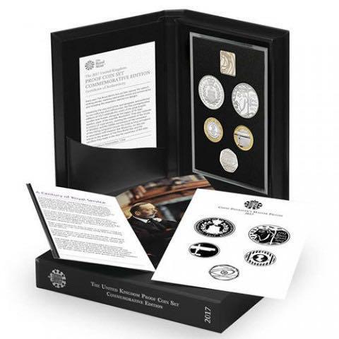 The 2017 United Kingdom Proof coin set commemorative Edition
