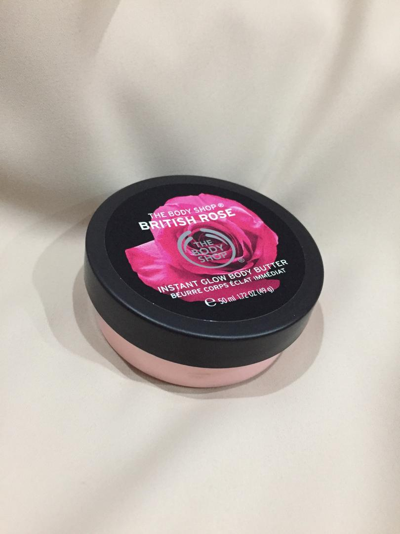 The Body Shop Body Butter British Rose