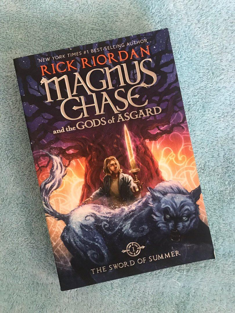 THE SWORD OF SUMMER (Magnus Chase and the Gods of Asgard #1) by Rick Riordan [HB]