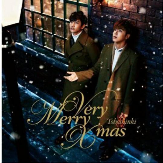 Tohoshinki CD Very Merry Christmas (Japanese)